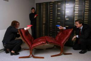 Vannpistolkrig i Grong Sparebank