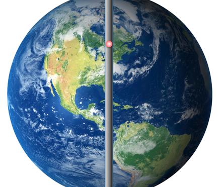 Sommergrubling: Hva vil skje hvis du hopper ned i et hull tvers gjennom Jorden til den andre siden?