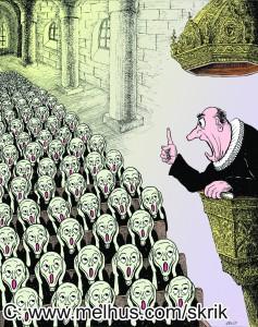"""From """"Skrik - Parodier av Arvid"""" www.melhus.com/skrik"""