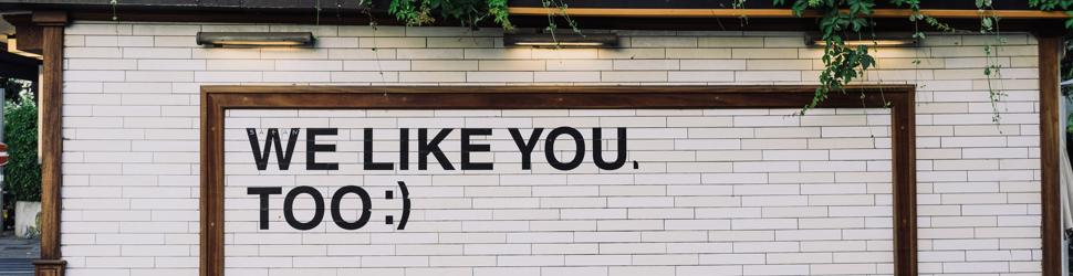 Medarbeidersamtale: Vi liker deg også!